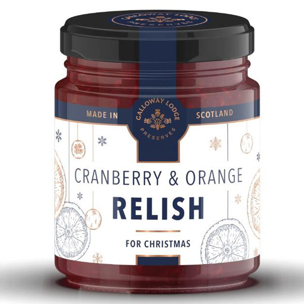 Cranberry & Orange Relish, 8.1 oz. jar