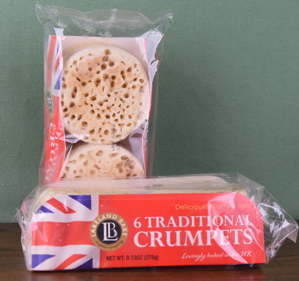 Classic British Crumpets - package of six