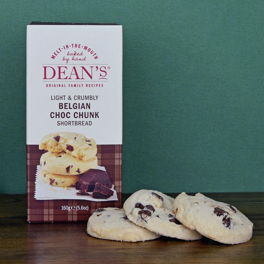 Dean's Belgian Chocolate Chunk Shortbread Rounds