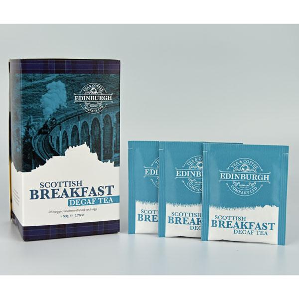 Decaffeinated Scottish Breakfast Tea Bags