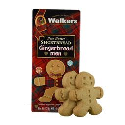 Walkers Gingerbread Man Shortbread Box