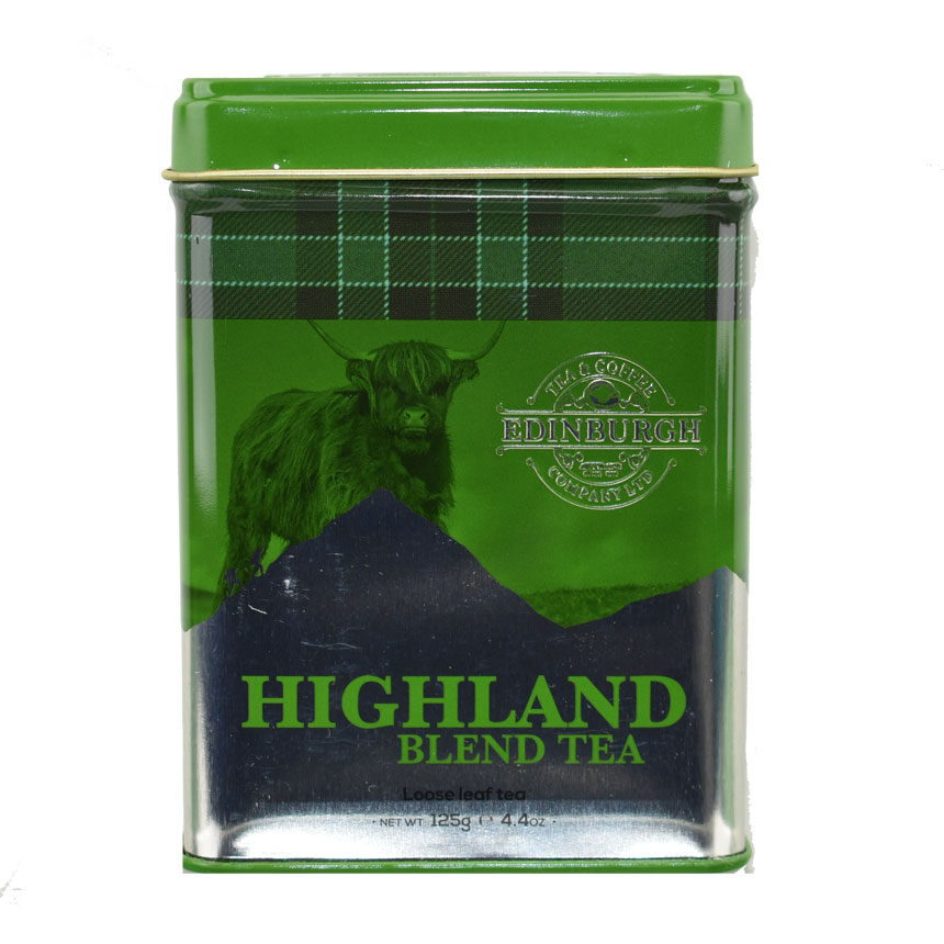 Highland Blend Tea Caddy