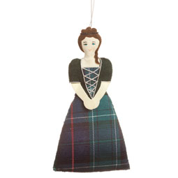 Highland Lady Ornament