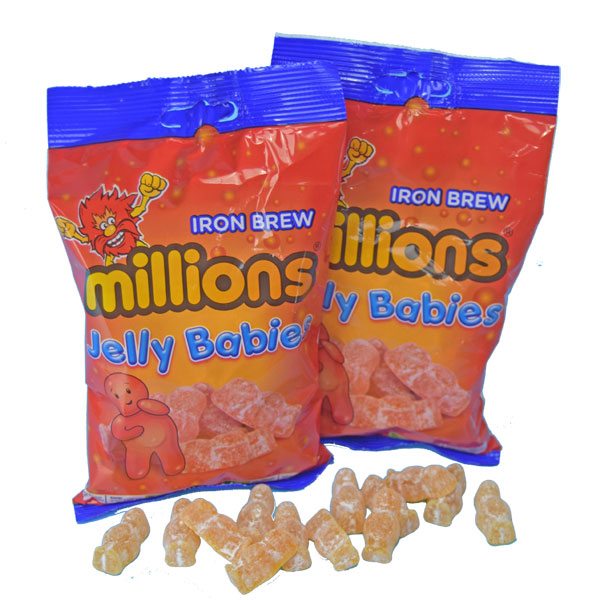 Iron Brew Jelly Babies - Two 7 oz. bags