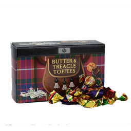 Butter & Treacle Toffee in Kilted Box