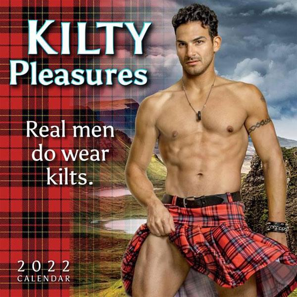 Kilty Pleasures 2022 Mini Wall Calendar