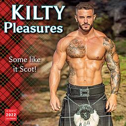 Kilty Pleasures 2022 Wall Calendar
