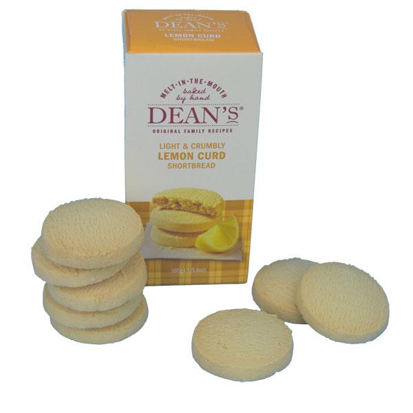 Deans Lemon Curd Shortbread Rounds Box
