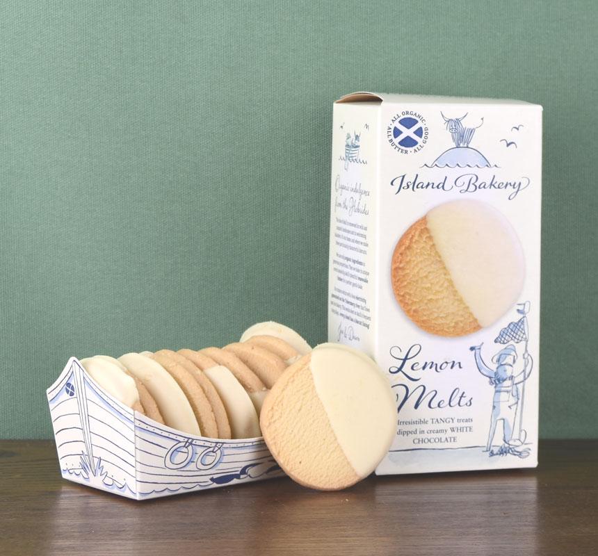 Lemon Melts - ten cookies