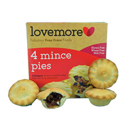 Lovemore Mince Pies - Gluten Free and Dairy Free