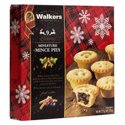 Walkers Mini Mince Pies - Box of nine