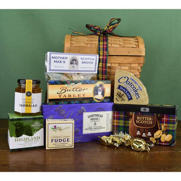 Scottish Comforts Basket 2021
