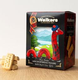 SALE Loch Ness Monster Shortbread Box