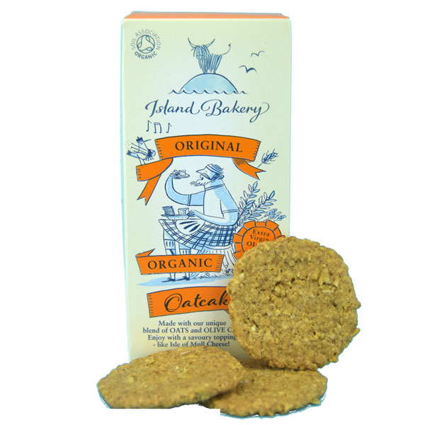 Organic Oatcakes from the Isle of Mull