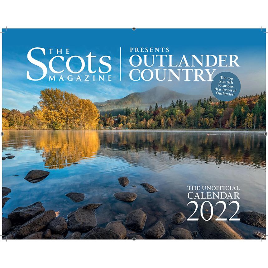 Outlander Country 2022 Wall Calendar