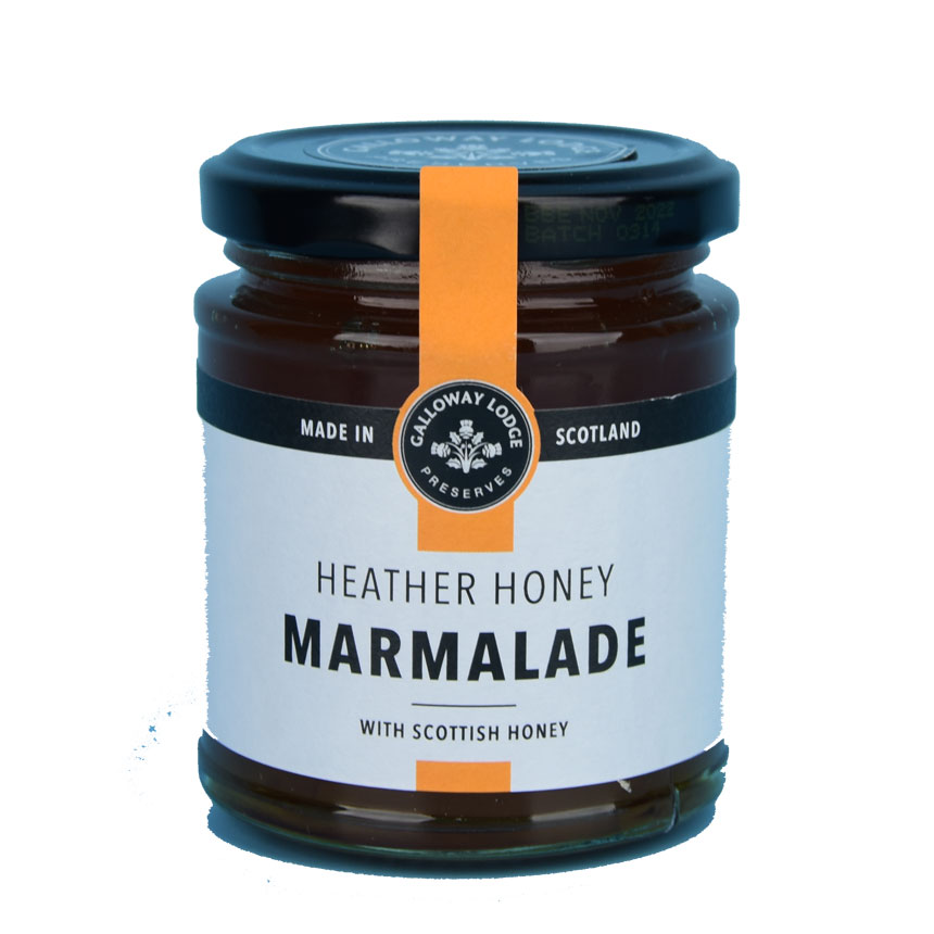 Heather Honey Marmalade - 8.1 oz. round jar