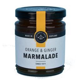 Orange & Ginger Marmalade - 8.1 oz. round jar
