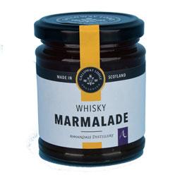 Marmalade with Annandale Malt Whisky - 8.1 oz. round jar