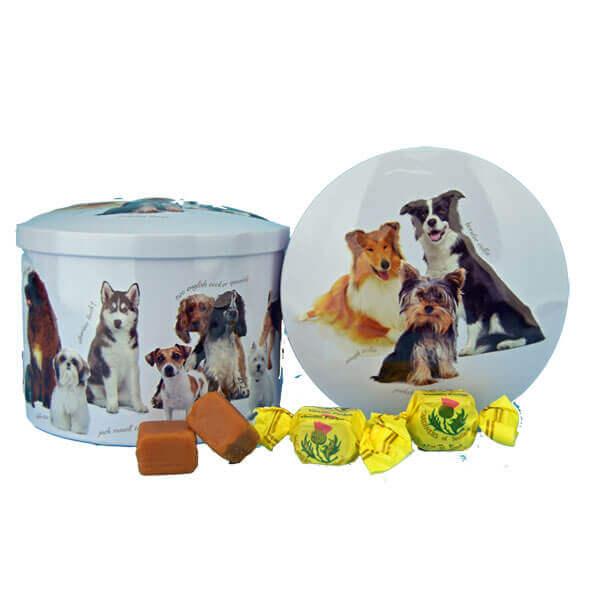 Round Dogs Vanilla Fudge Tin - 7 oz.