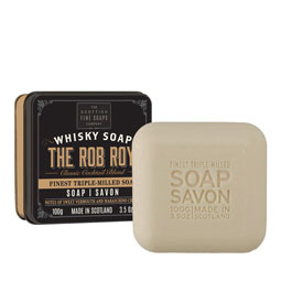 SOLD OUT Rob Roy Whisky Soap in a Tin