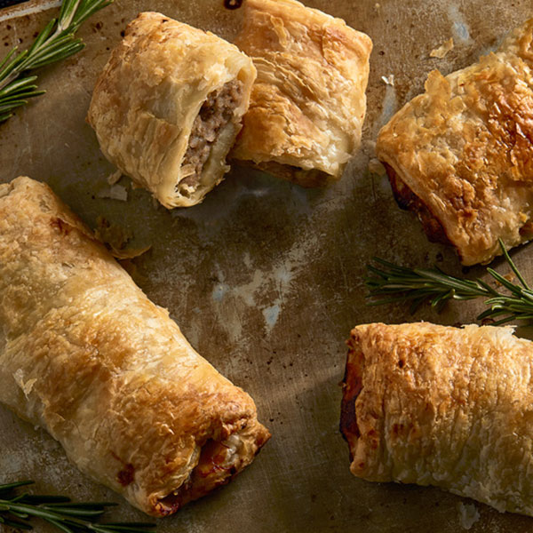 Sausage Rolls - precooked - set of 4