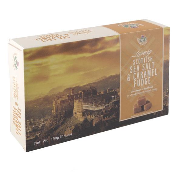 Sea Salt Caramel Fudge Box