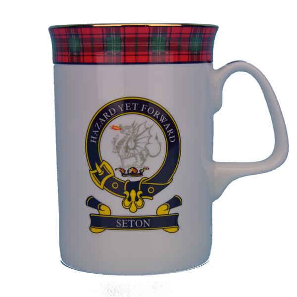 Seton Clan Mug