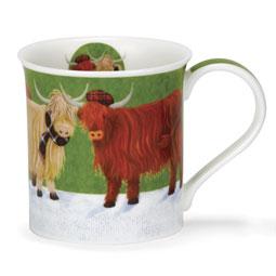 Shaggy Cows Mug - Bute Shape