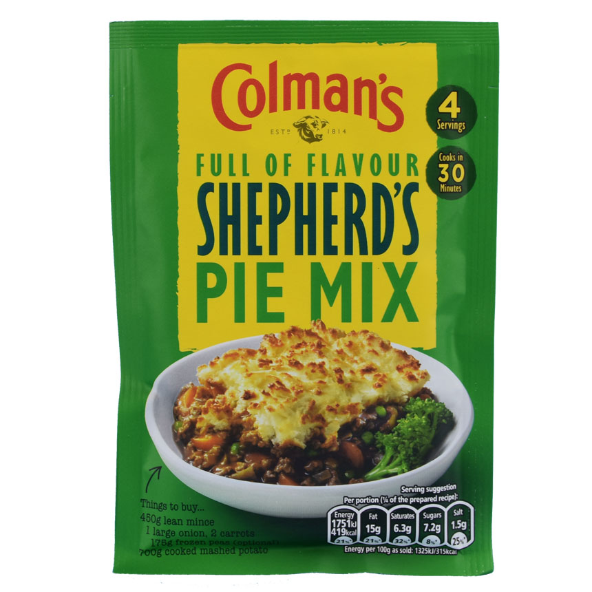 Colman's Shepherd's Pie Seasoning Mix