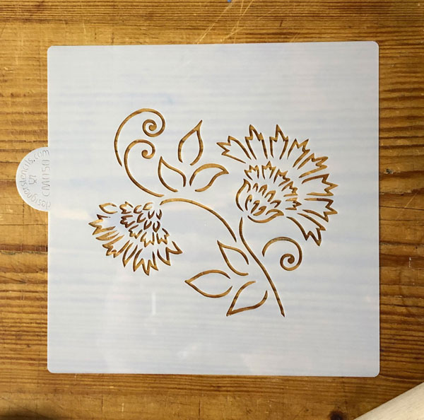 SALE Thistle Craft and Cookie Stencil