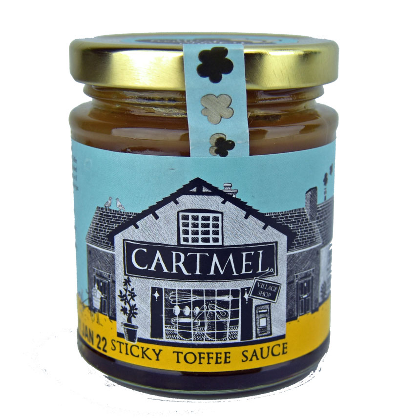 Sticky Toffee Sauce - 6 oz. of sweetness heaven