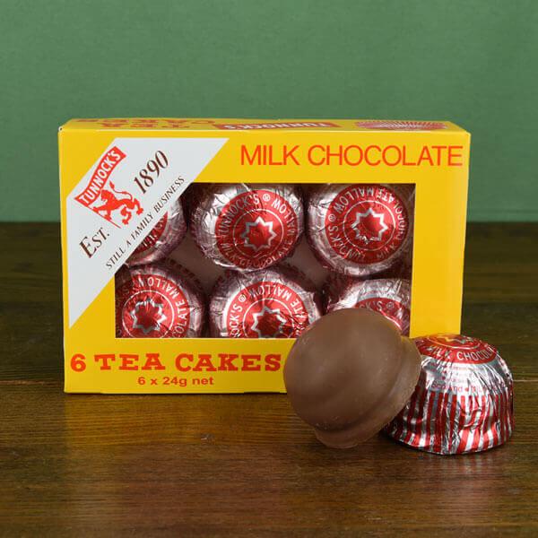Tunnock's Tea Cakes - box of six