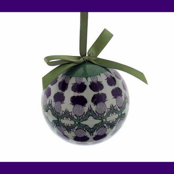 Large Thistle Ball Ornament - 3 inch diameter