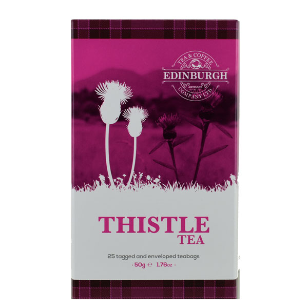 Thistle Tea - black tea with thistle blossoms in 25 teabags