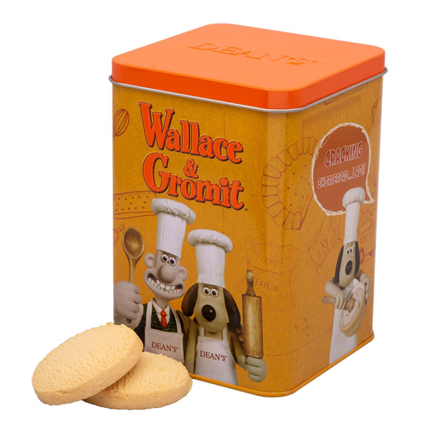 Wallace & Gromit Cracking Shortbread Tin from Deans