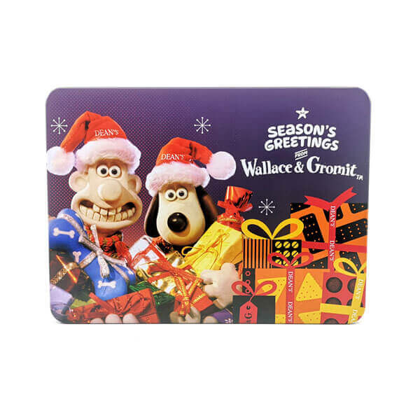 Wallace & Gromit Merry Christmas Tin