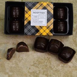 Whisky Barrels - eight truffles