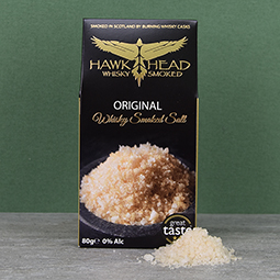 Whisky Smoked Sea Salt Flakes - 2.8 oz. Envelope