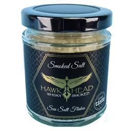 Whisky Smoked Sea Salt Flakes - 3.3 oz jar