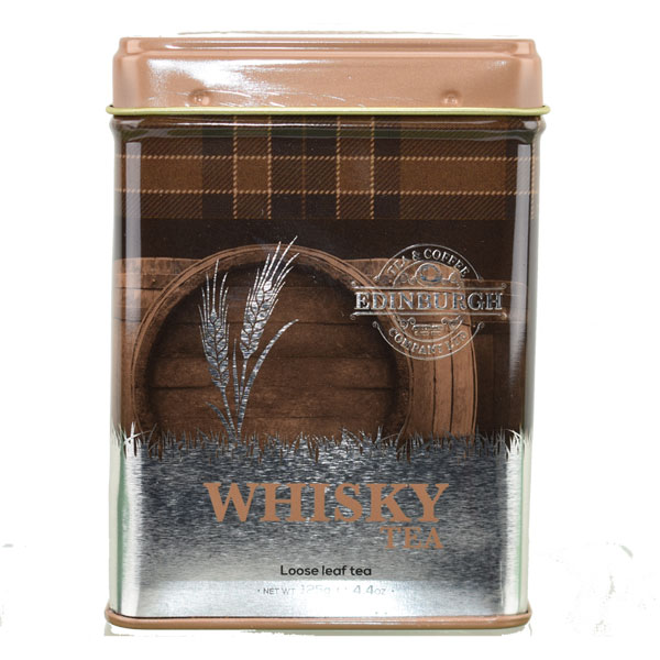 Whisky Tea Caddy - loose tea