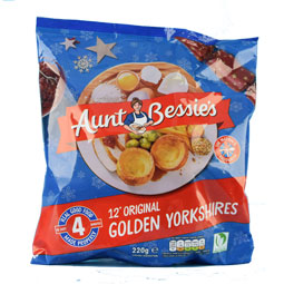 Yorkshire Pudding - Frozen bag of 12 from Aunt Bessie
