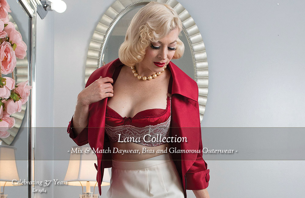 Lana Retro Chic Collection by Secrets In Lace