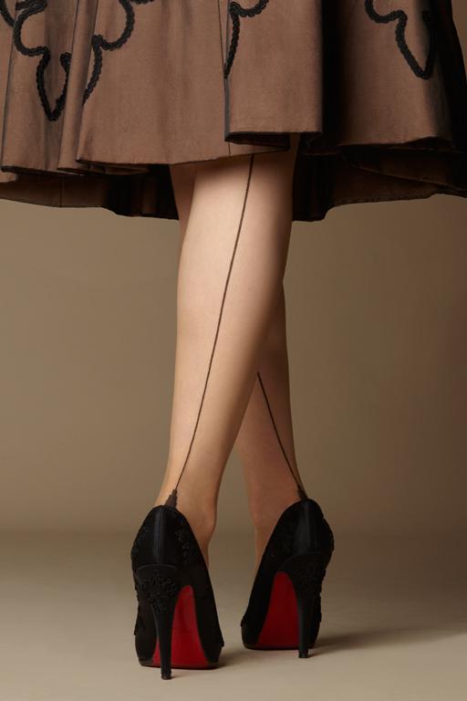 Seamed Stockings, Nylons, Tights Dita Daytime Glamour $20.00 AT vintagedancer.com