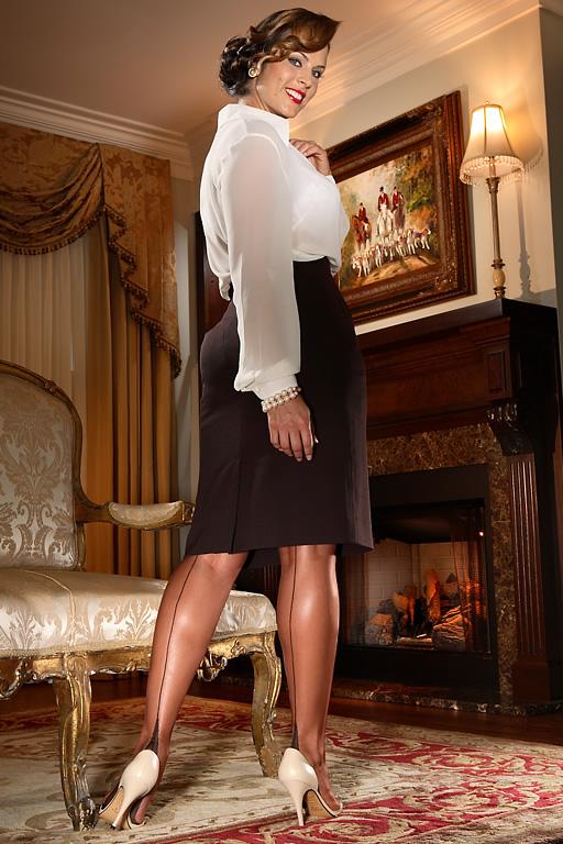 Full Fashion French Heel Glamour French Heel