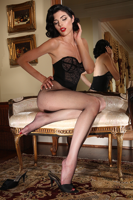 Pictures Of Long Legs In Fishnet Pantyhose