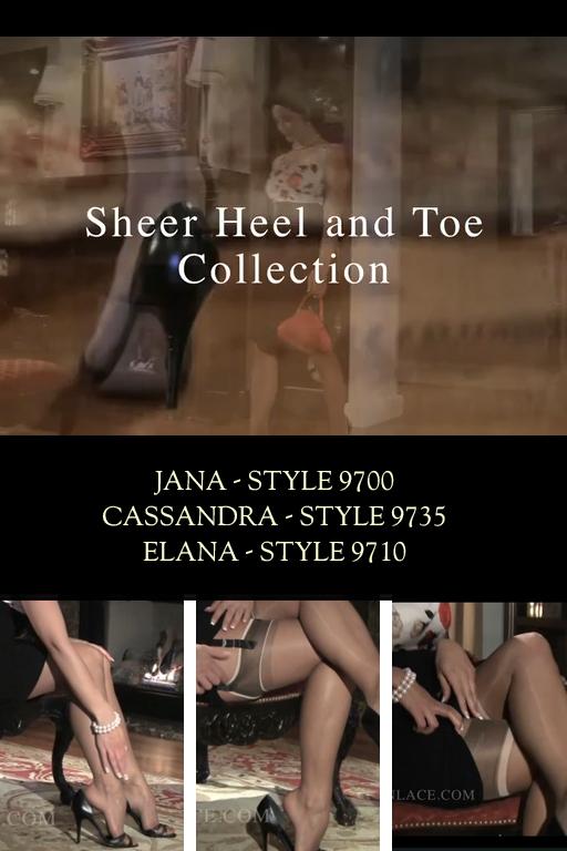 Sheer Heel & Toe Collection Video