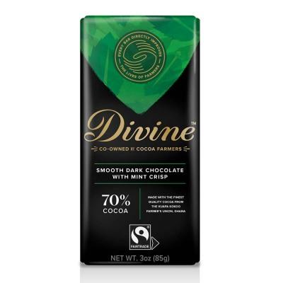 70% Dark with Mint Crisp Large Bar Case