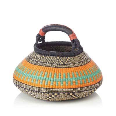 Orange Bulb Basket