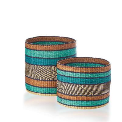 Ocean Nesting Baskets (XL) - Set of 2