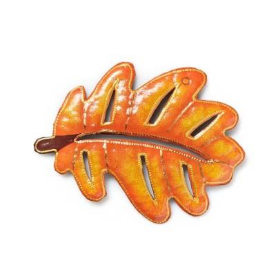 Orange Oak Wall Art